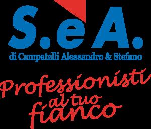Marchio SeA con Slogan