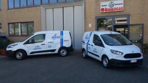 Nuovi furgoni per l'assistenza tecnica