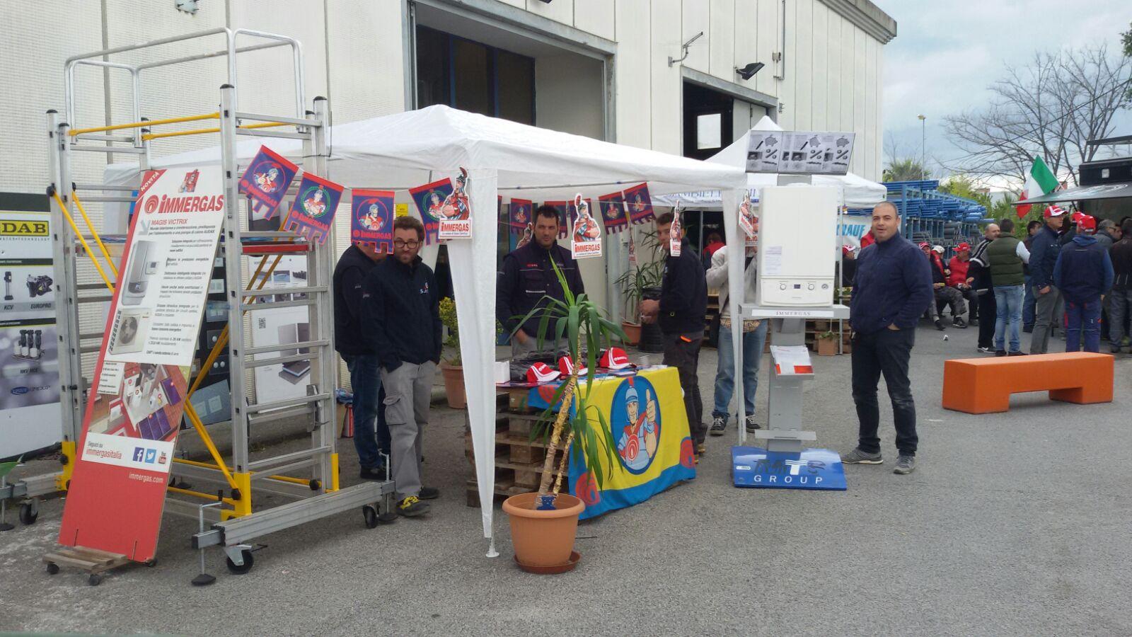 Giornata Immergas Italia presso Cambielli Livorno