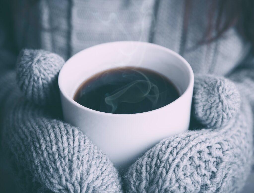 Inverno in una casa non riscaldata