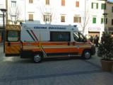 Nuova ambulanza per la Pubblica Assistenza di Cecina