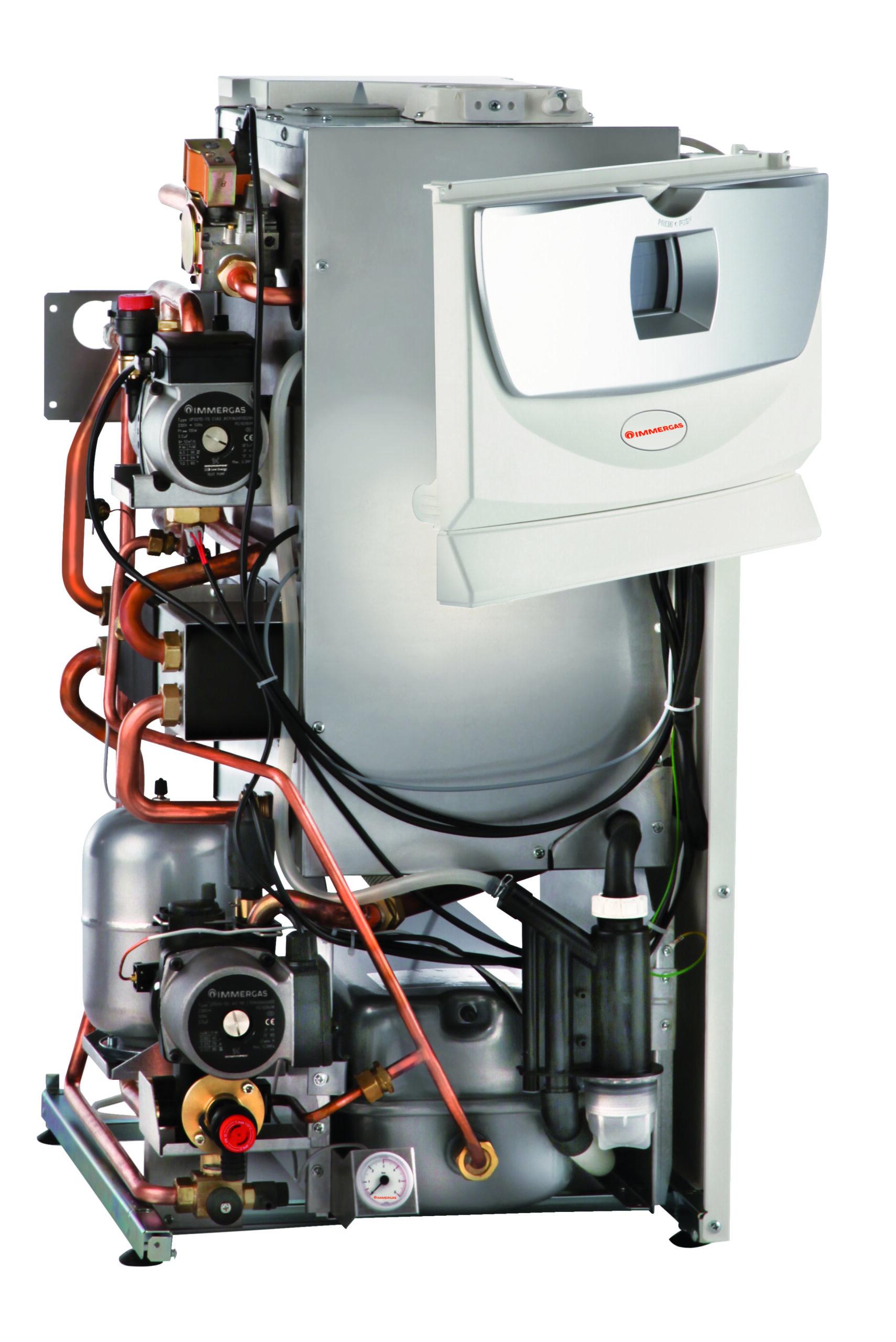 Caldaia a condensazione - interno